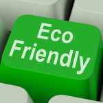 Eco Friendly Key Showing Green And Environmentally Efficient