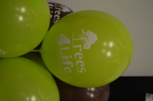 Trees4Life Campaign balloons